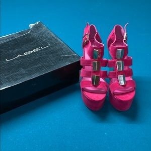 Way Cool Fuchsia Tall Sandals